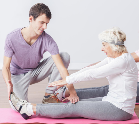 Five Best Stretches for Seniors